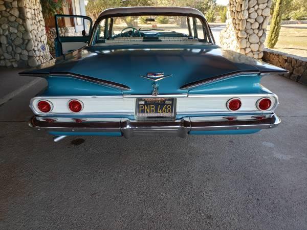 Photo 1960 Chevy Bel Air 4 Door Post - $15,900 (Oak Hills)