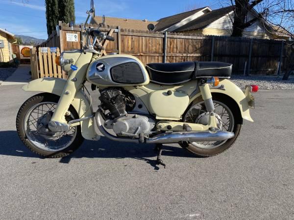 Photo 1963 Honda Dream - $2,800 (Yucaipa)