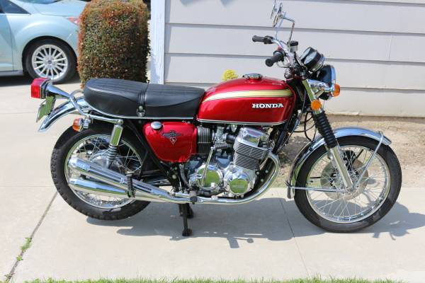 Photo 1972 Honda CB 750 - $7,500 (Upland)