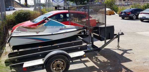 Photo 1991 Jet ski and double trailer - $1,200 (Rancho Cucamonga)