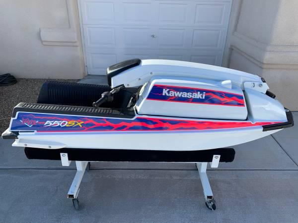 Photo 1991 Kawasaki 550sx jet ski w reed motor - $2500 (Lake Havasu City AZ)