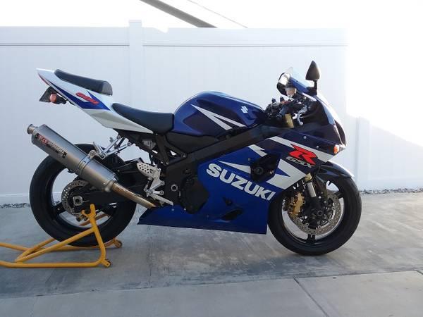 Photo 2004 Suzuki GSXR 600 - $3500 (Hemet)