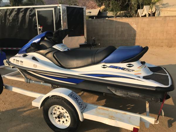 Photo 2006 KAWASAKI STX-12F 4Stroke 3 passenger . Fuel injected 37hours  - $7,000 (Lake Elsinore. Very clean ski 37 hours Runs like a top )