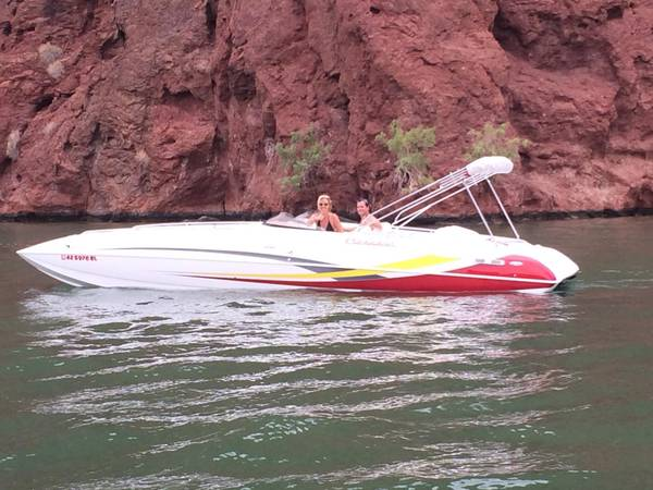 Photo 2007 2839 Conquest Topcat II deck boat - $114,000 (Havasu)