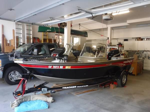 Photo 2008 17 V Bass Tracker - $14,000 (Big Bear Lake)