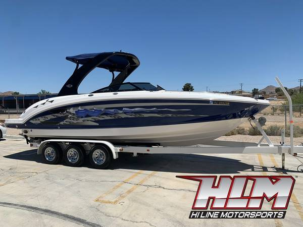 Photo 2008 Chaparral Sunesta 264 Deck Boat 8.1L Loaded with every option - $69,900 (Apple Valley)