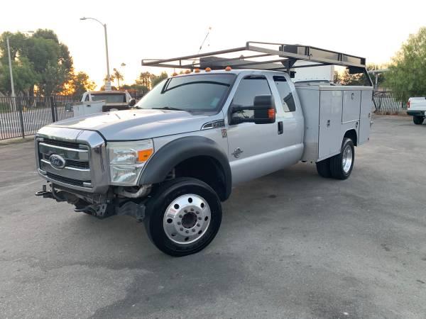 Photo 2011 Ford F450 Diesel Utility Truck Has DEF Runs Great - $14,500 (El Monte)