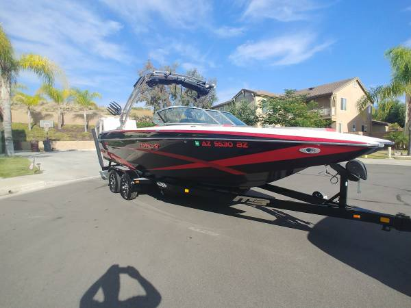 Photo 2014 MB Sports F24 Tomcat Wakeboard Boat No AZ Sales Tax - $67,500 (Murrieta)