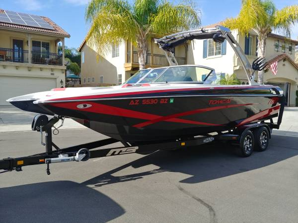 Photo 2014 MB Sports F24 Tomcat Wakeboard Boat No AZ Sales Tax - $65,000 (Murrieta)