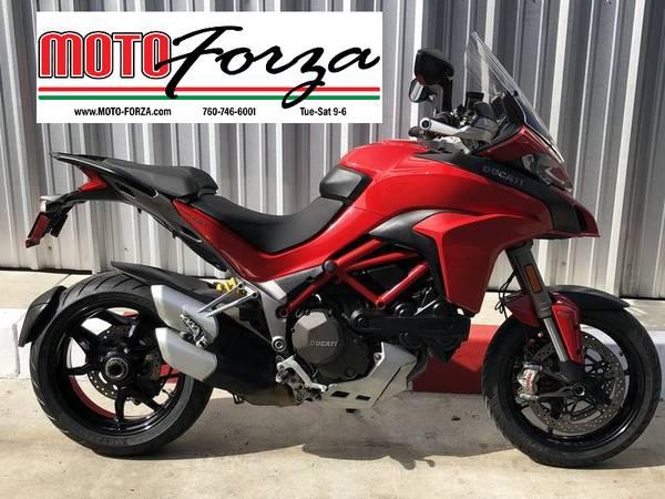 Photo 2015 Ducati Multistrada 1200 S  The many roads bike - $9,999 (Moto Forza Escondido)
