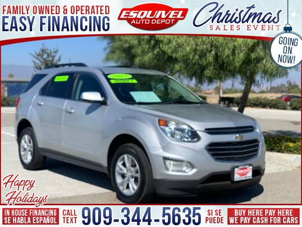 Photo 2017 Chevrolet Chevy Equinox LT 4dr SUV w1LT (- $995.00 Down o.a.c. Buy Here - Pay Here)