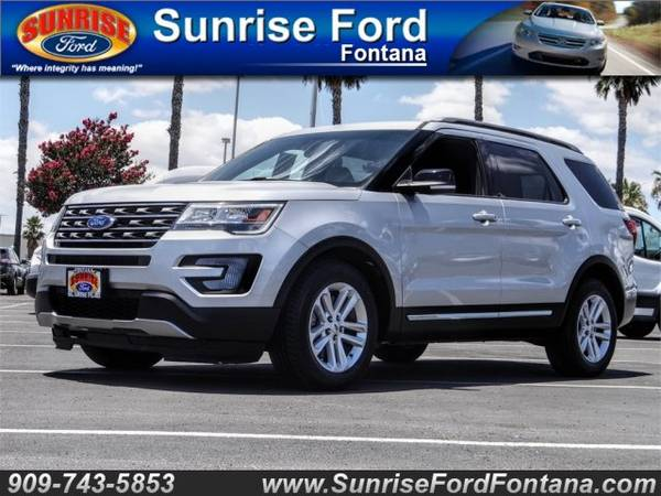 Photo 2017 Ford Explorer XLT FWD  CALL TODAY .. DRIVE TODAY O.A.D.  ( FAST APPROVALS SE HABLA ESPANOL )