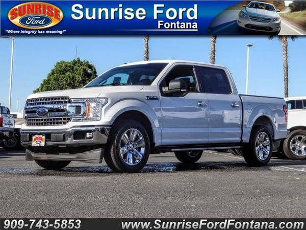 Photo 2018 Ford F CREW CAB XLT CHRME .L .  CALL TODAY .. DRIVE TODAY O.A.D.  ( FAST APPROVALS SE HABLA ESPANOL )