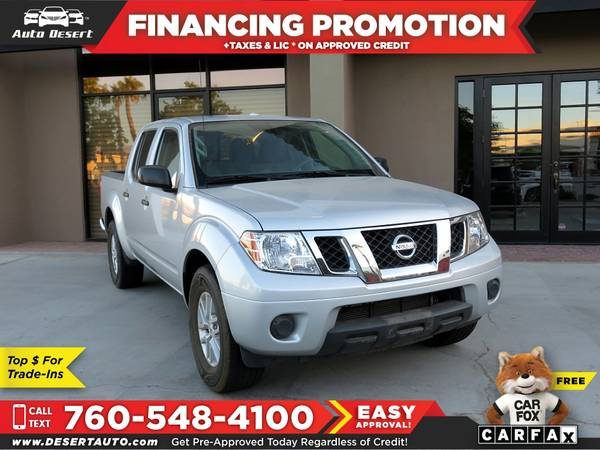 Photo 2018 Nissan FRONTIER PICKUP 2WD 2 WD 2-WD V6 V 6 V-6  - $22900 (BUY - SELL - TRADE - CONSIGN)