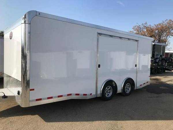 Photo 2019 Sundowner Race Car Trailer RC520 ALUMINUM Enclosed Cargo Trailer - $21,899