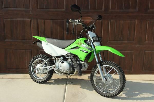 Photo 2020 Kawasaki KLX110 - Texas Plated Street Legal Like New - $5,000 (Temecula)