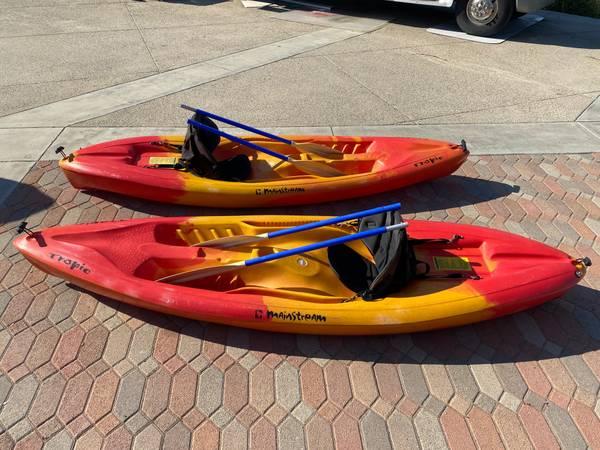 Photo 2 Sit-On-Top Kayaks Mainstream Tropic Kayak - $725 (Murrieta, CA)