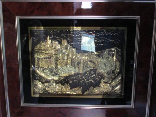 Photo 2 each real Gold (18 carat with 24 carat trim) Pictures - $2,100 (San Jacinto)