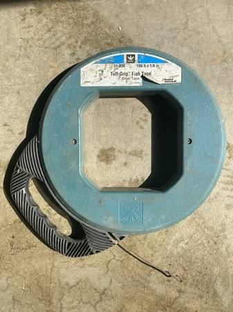 Photo (32) Finish tape steel tape 100 ft x 18 inch - $45 (Moreno Valley)