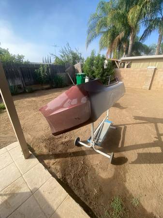Photo (34) Honda Accord rear bumper - $70 (MORENO VALLEY)
