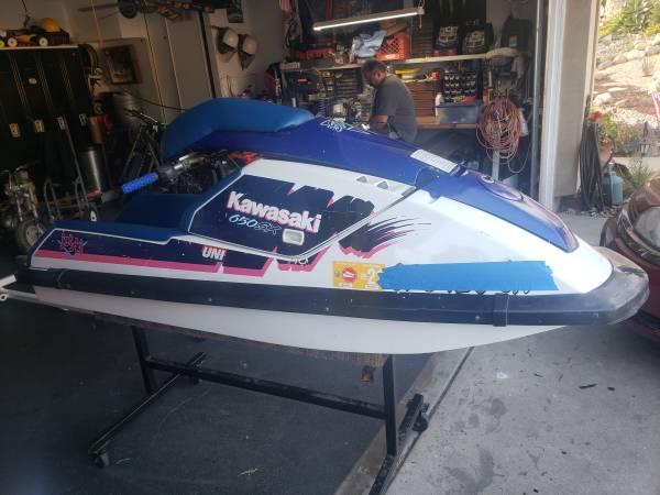 Photo 650sx 650 sx kawasaki jetski jet ski - $1500 (Rancho Cucamonga)