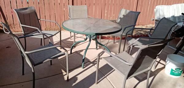 Photo 7 Pieces Outdoor Patio Furniture Set - $80 (Temecula)