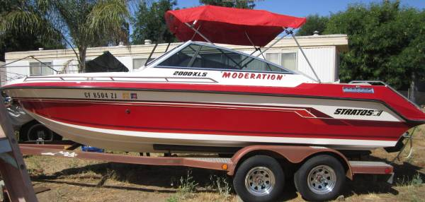 Photo 87 STRATOS 2000-XLS 2139 Open Bow Pleasure Boat - $12,500 (Romoland)