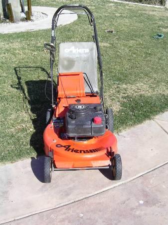 Photo Ariens mdl 911016 21 quot self proplled vari speed high wheel lawn mower - $133 (murrieta)