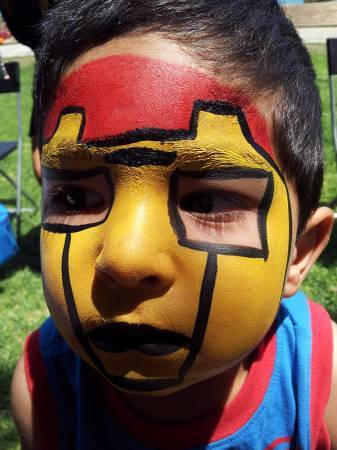 Photo Balloon Twisting Decorating  Face Painting Painter  Glitter Tattoos (Inland Empire)