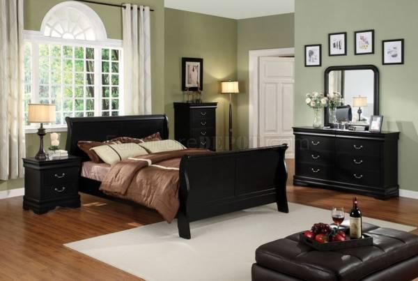 Photo Beautiful Queen Sleigh bed. Valentines Gift - $150 (Murrieta)