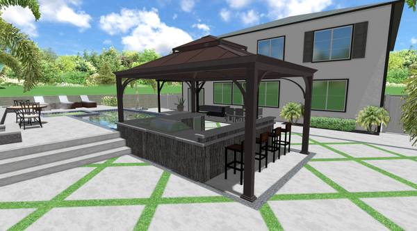 Photo Beautiful custom 3d landscape and pool designs - $300 (Moreno Valley)