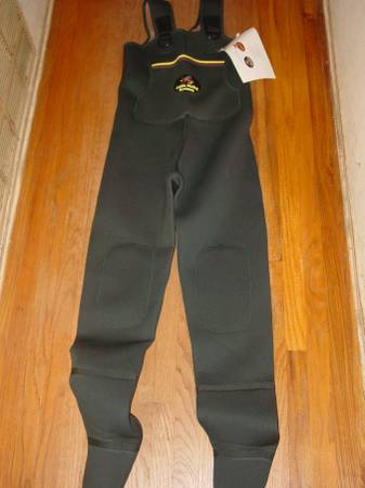 Photo Caddis Systems Stocking Foot Chest Waders - $60 (Rialto)