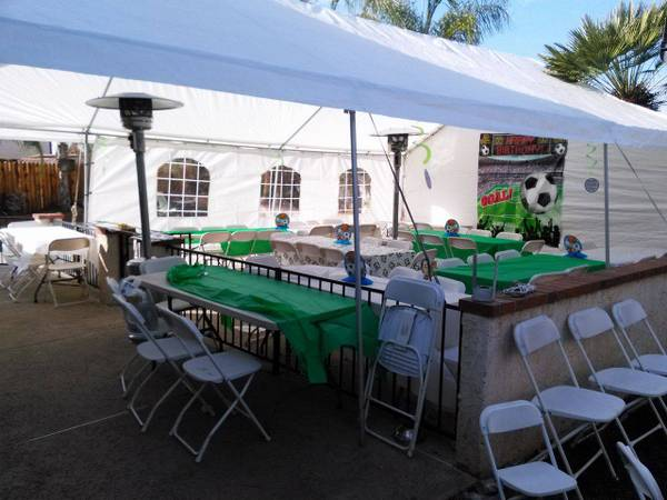 Photo Canopies 12X20  20X20  20X30  20X40 Party Rentals  Jumpers  Tents - $1 (Moreno Valley Fontana Ontario Menifee)