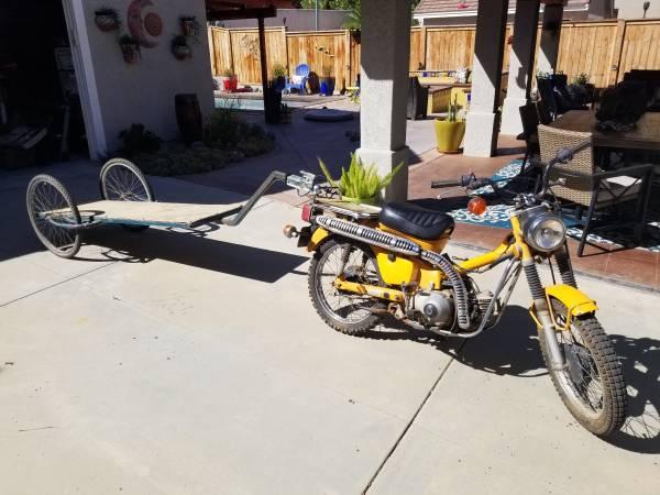 Photo Custom built game hauler - $40 (Corona)