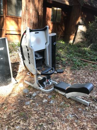 Photo Exercise equipment (Forest falls)