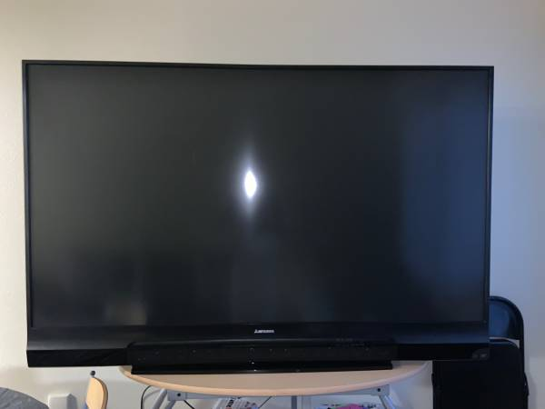 Photo Free Mitsubishi TV - for parts or fix bulb (Riverside -UCR)