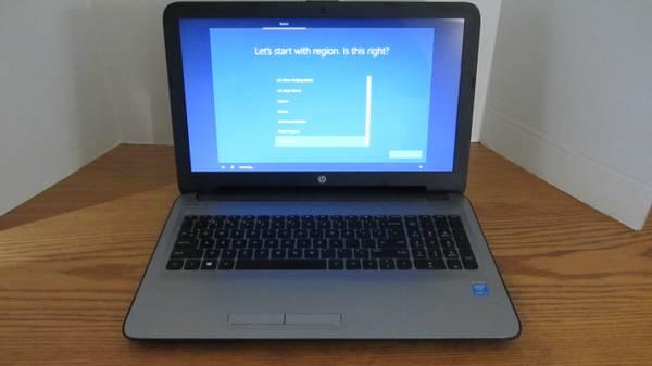 Photo HP Laptop  15-ac163nr 15.6quot  Intel i3-5005U  240GB SSD  8GB - $290 (Perris)