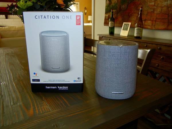 Photo Harman Kardon Citation One Series - Google Smart Speaker Mint New - $95 (Temecula)