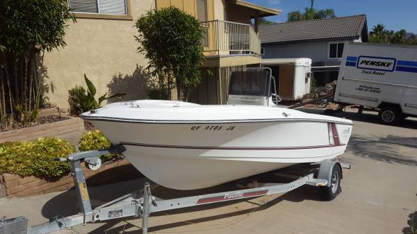 Photo Larson center console boat - $6,995 (Canyon lake)