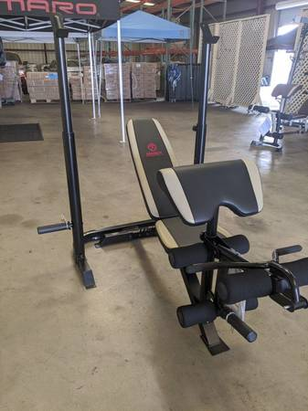 Photo Marcy two-Piece Olympic Bench NEW IN BOX - $300 (Fontana)