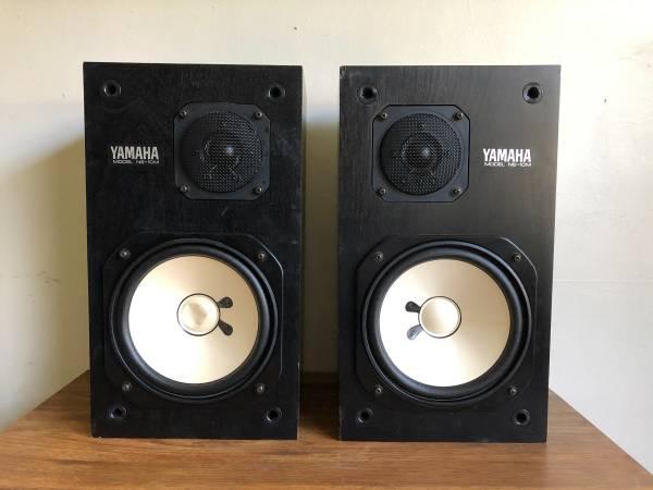 Photo Matched pair Yamaha NS-10M Studio Monitor Speakers - $550 (Riverside)