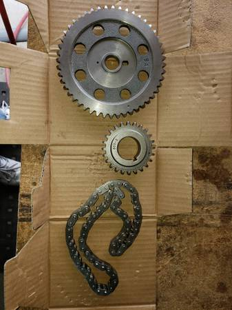 Photo NEW timing gears  chain Jeep 4.0 94-98 - $30 (Redlands)