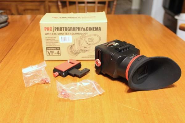 Photo PNC VF-4 Universal Mount LCD View Finder for Digital SLR  DSLR Camera - $40 (Riverside)