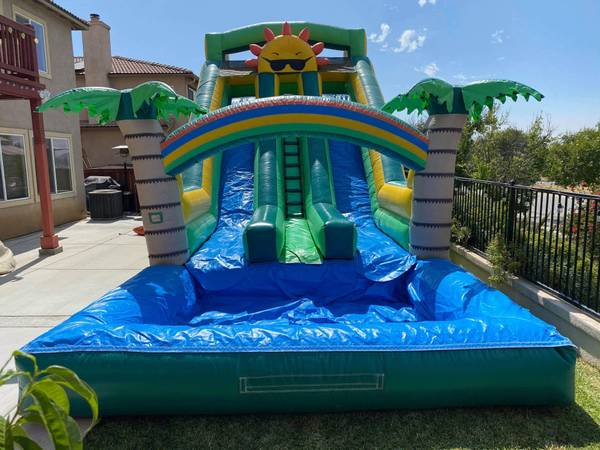 Photo Party Rentals  Water slides  Jumpers  Disco Dome  Bounce House - $1 (Moreno Valley)