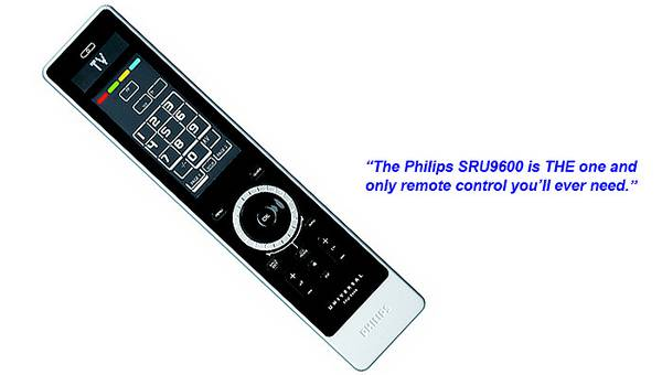 Photo Philips Prestigo SRU9600 Universal Remote Control - $22 (Temecula)