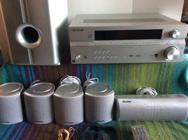 Photo Pioneer HTP-2700 - home theater system - 5.1 channel Specs - $250 (Rancho Cucamonga)