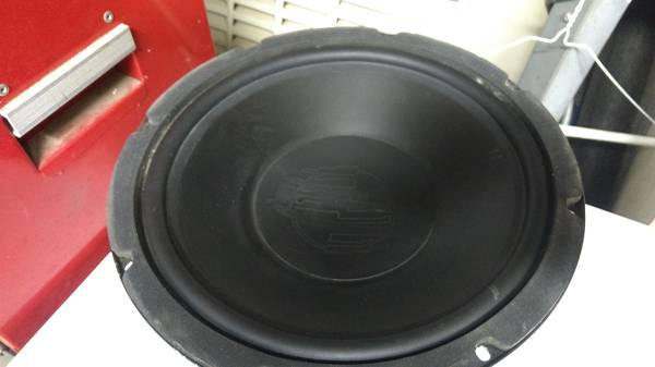 Photo Precision power ppi 12 subwoofers - $15 (Apple valley)