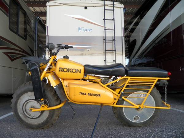 Photo ROKON Trail-Breaker 2009 California Titled Never Used Many Options - $5995 (Beaumont)