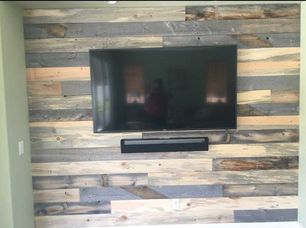 Photo Reclaimed Barn Wood MIX 5050 Lumber Paneling... - $4 (The Real Stuff ...On SALE)