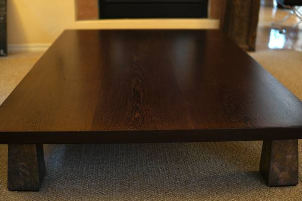 Photo Roche Bobois Asian Collectionquot Wenge Low Coffee Table - $600 (Temecula)